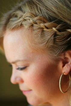 How to 4 Strand Braid