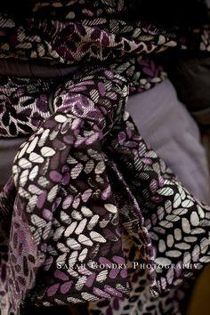 Woven Wings Stockinette Blackberry Nightshade