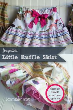 (9) Name: 'Sewing : Little Ruffle Skirt