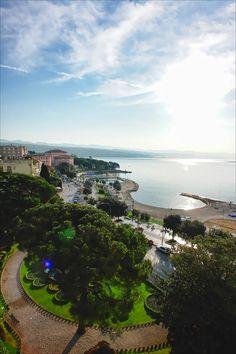 Opatija is a town in western Croatia, just southwest of Rijeka on the Adriatic coast.