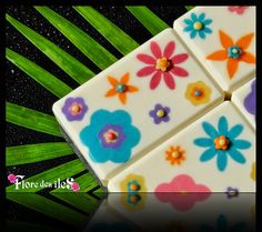 flower soap embeds