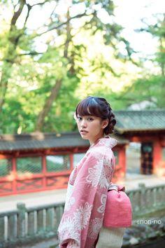 Mirei Kiritani. 桐谷美玲 #kimono