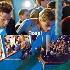 Love this scene Real Titanic, Titanic Movie, I Movie, Beaufort Scale, Titanic Quotes, Leo And Kate, Billy Zane, Jack Dawson, The Best Films