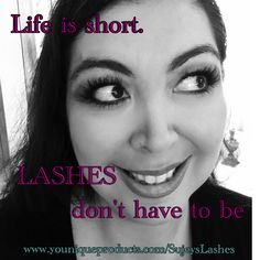 Why are you still waiting...  Get the lashes you've been wanting https://youniqueproducts.com/sujeyslashes