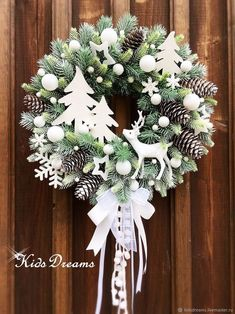 Rose Gold Christmas Decorations, Christmas Wreaths To Make, Christmas Arrangements, Christmas Tree Themes, Holiday Wreaths, Xmas Decorations, Christmas Projects, Christmas Holidays, Christmas Centerpieces