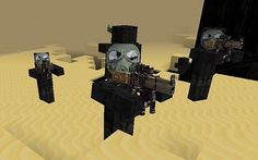 Enemy Soldiers Mod 1.7.2/1.6.4 - http://www.minecraftjunky.com/enemy-soldiers-mod-1-7-21-6-4/