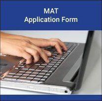 MAT Application form 2017