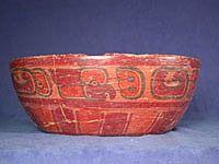 Ceramic Bowl, Copán Area, Honduras. Late Classic Maya, A.D. 600-900