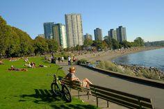English Bay Beach. Vancouver Photos, Dolores Park, English, Beach, Travel, Viajes, Seaside, English Language, Trips