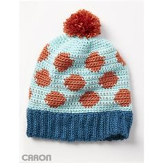Going Dotty Hat - I'd use different colors for sure.
