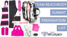 How to Survive Team Beachbody Coach Summit with this Preparation List | What and How to Pack at Coach Summit | Top things you Need to Survive Summit | team beachbody | beachbody program | accountability | home workout program | weight loss program | beachbody coach | health and fitness | healthy living | entrepreneur | motivator | fitness coach | inspiration | entrepreneurship | goal setting | team building | leadership | mentor | network marketing | health coach | beachbody coaching tips |