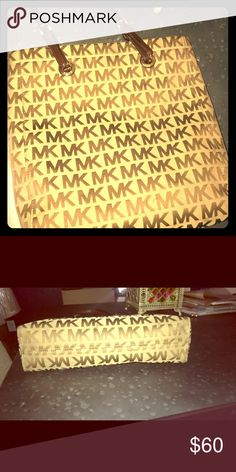 eff08fa4fb63 MK Brown Purse Gently used. Michael Kors Bags Totes  brownmkpurse   mkkorsbags  navybluemkpurse