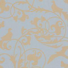 Eijffinger Gracia 301220 blauw bloem behang | Blauw Behang | Behang kleuren | Behang | behang & fotobehang op maat geproduceerd!