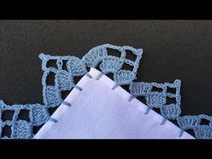 Crochet Boarders, Crochet Edging Patterns, Crochet Lace Edging, Doily Patterns, Crochet Doilies, Easy Crochet, Knitting Patterns, Crochet Needles, Crochet Stitches
