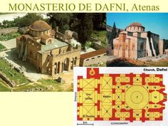 monasterio dafni planta - Buscar con Google