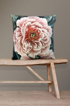 Home Textile 2019 New 45cm X 45cm Fashion Peony Flower Grid Cloth Dining Chair Cushion Mat Home Seat Home Decoration Rich And Magnificent Cushion