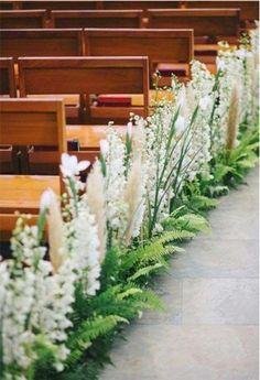 67 Ideas flowers arrangements for church ceremony decorations Wedding Ceremony Ideas, Wedding Church Aisle, Church Wedding Flowers, Aisle Flowers, Wedding Aisle Decorations, Church Ceremony, Church Decorations, Church Stage, Church Flower Arrangements