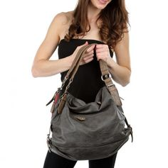 Cool, rustic purse...want it but Hate huge purses...a little smaller would be perfect*
