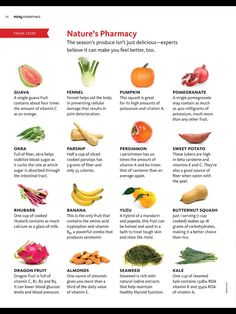 Good to know: nature's pharmacy #plantbased #diet #health