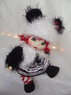OOAK Mattel My Child Doll ~ Panda Baby