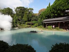 [Beppu Onsen Hot Springs] - 大分・別府温泉 - Oita, Japan