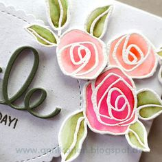 Hey stampers, Anni here. Today I have a card full of roses for you featuring Altenew's Bamboo Roses . Every time I go on vacation I ta...
