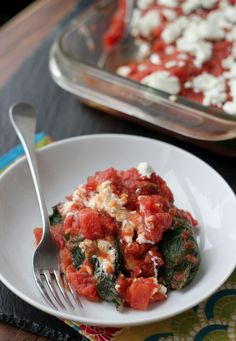 quinoa-stuffed collard green rolls with goat cheese from Eats Well With Others