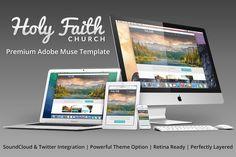 HolyFaith Multipurpose Muse Template by Nakshatra on Creative Market