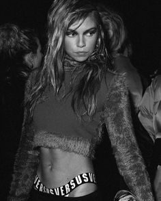 Go behind the scenes with @StellaMaxwell and more of @Donatella_Versace's cast of party girls and boys at @Versus_Versace Fall 2017. Photo by @AsiaWerbel. #LFW  via W MAGAZINE OFFICIAL INSTAGRAM - Celebrity  Fashion  Haute Couture  Advertising  Culture  Beauty  Editorial Photography  Magazine Covers  Supermodels  Runway Models