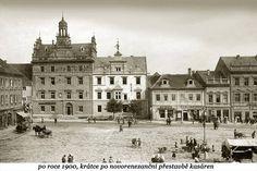 Pseudorenesancni prestavba prave casti -domu cp.77 byla provedena v r.1899. Puvodne reenesancni obecni hostinec z r.1606,od r.1750 vojenska kasarna.