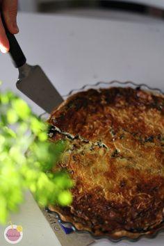 herkullinen mustatorvisienipiirakka Meatloaf, Steak, Good Food, Baking, Recipes, Bakken, Recipies, Steaks, Ripped Recipes