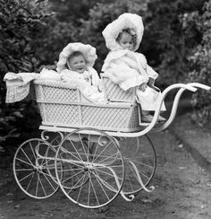 Echoes from the past: Babies in prams