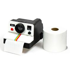 Vintage Polaroid Camera Tissue Case Toilet Roll Paper holder Retro Polaroll for sale online Vintage Polaroid Camera, Retro Camera, Photo Polaroid, Toilet Paper Dispenser, Toilet Paper Roll Holder, Tissue Box Crafts, Tissue Boxes, Cool Toilets, Practical Gifts