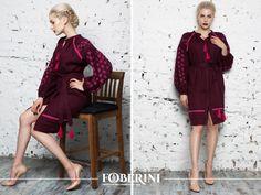 "Ukrainian embroidered Dress ""Star of Bordeaux"" #FOBERINI #fashion #ethnic #ukrainianstyle #ukraine #vyshyvanka #embroidereddress #folkstyle #ukrainianfashion #ua #ukrainian #вышиванка #boho #streetfashion #фоберини #ethnicstyle #embroidery #bohemian #вишиванка"