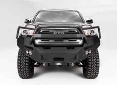 Fab Fours - Fab Fours TT16-B3650-1 Full Grille Guard Winch Front Bumper Toyota Tacoma 2016-2017