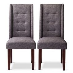 Charlie Pin Tuck Dining Chair (Set of 2)