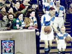 Vintage old photo changed to colour tone of Bristol Rovers captain Ray Warren… Football Program, Football Kits, Football Cards, Bristol Rovers Fc, Blackburn Rovers Fc, Ipswich Town, Bristol City, Association Football, Most Popular Sports