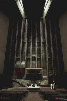 Wnętrze kościoła Saint Francis de Sales w Michigan, USA