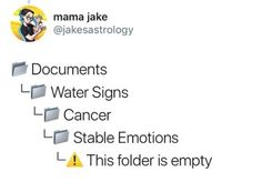 Cancer - These Hilarious Astrology Memes Are Way Too Accurate - Livingly Meme Show, Funny Jokes, Hilarious, Narcissistic People, Taurus Love, Keep The Peace, Stop Talking, Pisces, Zodiac Signs
