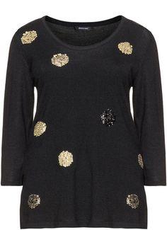 Pin for Later: 25 hässliche Weihnachtspullover, die eigentlich ganz süß sind   Elena Miro Pullover mit Pailletten (250 €)