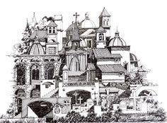 Galeria - Ilustrações que desafiam a realidade arquitetônica - 6