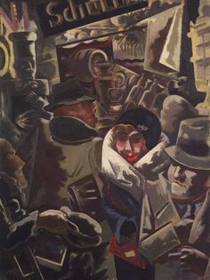 Berlin Street    George Grosz (American (born Germany), Berlin 1893–1959 Berlin)  Date: 1931