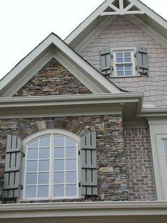 Home Exterior Brick And Stone Siding Colors Ideas-Home Exterior Brick And St. Home Exterior Brick And Stone Siding Colors Ideas-Home Exterior Brick And Stone Siding Colors Ideas Home Ext House Paint Exterior, Exterior Siding, Exterior Remodel, Exterior House Colors, Exterior Design, Stone Exterior, Exterior Houses, Brick Siding, Stone Siding