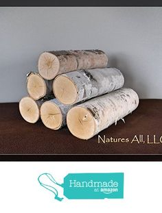 White Birch Fireplace Logs/Empty Fireplace Decor/Fill A Space! from Natures All, LLC Birch Logs, Wood Logs, Unique Furniture, Furniture Decor, Birch Tree Decor, Unfinished Wood Crafts, Fireplace Logs, Modern Design, Just For You