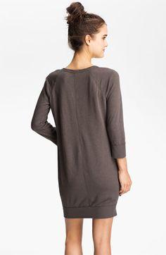 James Perse Raglan Sleeve Sweatshirt Dress | Nordstrom