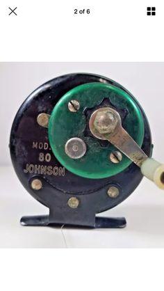1954 JOHNSON SIDE REEL MODEL 80