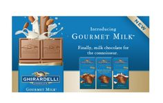 love ghiradelli, but... this milk chocolate was really sweet. I prefer a darker, more bitter chocolate. I will definitely use the coupon included to get a different flavor!