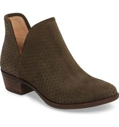 Main Image - Lucky Brand 'Bashina' Perforated Bootie (Women)