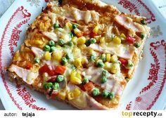 Vločková pizza recept - TopRecepty.cz