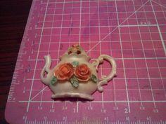 Tea Pot Resin embellishments Tea Pots, Embellishments, Resin, Ornaments, Tea Pot, Decorations, Tea Kettles